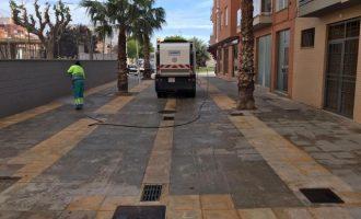 L'Ajuntament de Llíria desinfecta més de 950 km de vies públiques