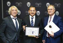 El València CF i Llíria City of Music celebren junts el Dia d'Europa