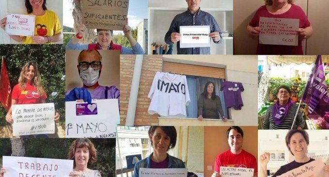Les mobilitzacions del 'Dia del Treballador' salten del carrer a les xarxes socials