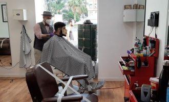 La desescalada arruina a las peluquerías valencianas: más del 65% trabaja por debajo del 33% de su capacidad
