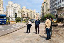 """Arranquen les obres en la Plaça de l'Ajuntament per a la peatonalització: """"Ja no manaran els cotxes"""""""