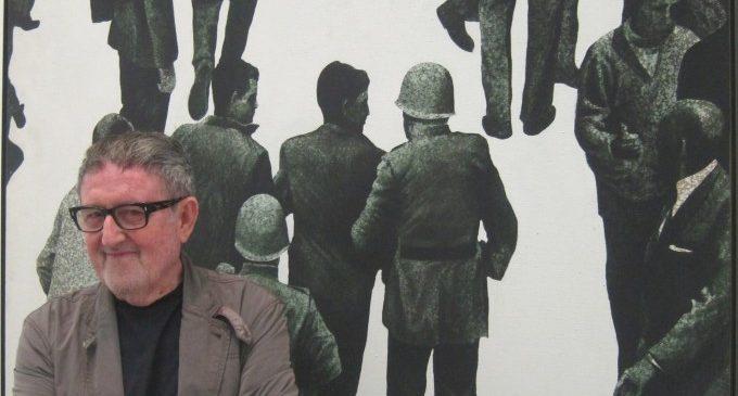 Mor el pintor Juan Genovés, autor de 'L'abraçada', símbol de la Transició