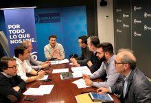 El PP la Diputació reuneix alcaldes i portaveus per a informar-los de línies econòmiques per a l'emergència