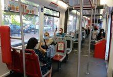Metrovalencia i TRAM entren en 'Fase 1' amb més viatgers encara que encara amb reduccions de més del 75%
