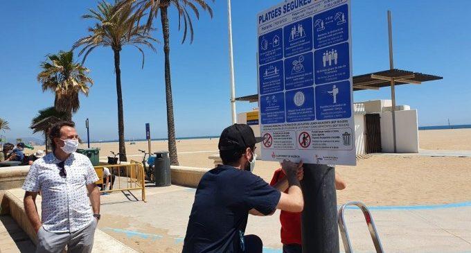 La temporada de platges a València arranca el dilluns i tindrà un dispositiu especial enfront de la pandèmia