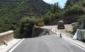 La Diputació reabrirá al tráfico la CV-363 entre Losilla y Ademuz a finales de julio tras la reconstrucción de la vía