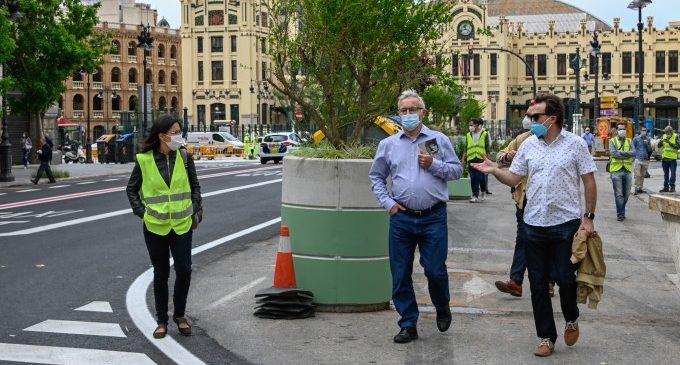 Mobilitat conclou la peatonalització de la plaça de l'Ajuntament