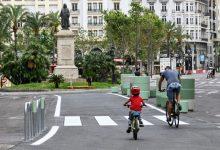 València continua treballant en la recuperació de l'espai públic i la promoció de la mobilitat sostenible