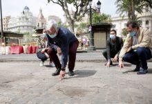 Ribó ressalta el simbolisme de la plaça de l'Ajuntament