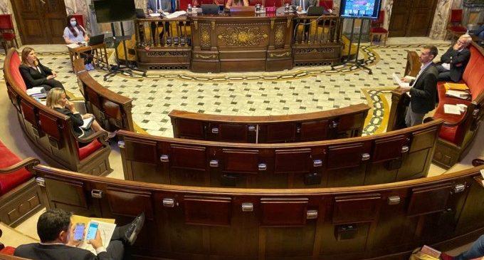 El Ple de València reivindica un acord amb el Govern de 5.000 milions per a les ciutats i una aportació específica al transport públic