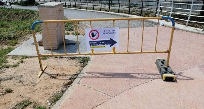 La Policia Local d'Almussafes crea rutesCovid-19per a garantir la separació entre persones en el terme municipal