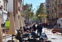 Burjassot suspén la taxa de terrasses per a bars, restaurants i cafeteries fins a 2021