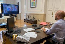 Alcaldes i alcaldesses de La Costera coordinen amb el president de la Diputació la gestió davant la crisi de la COVID-19
