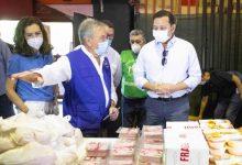 Mestalla abre sus puertas como banco de alimentos solidarios