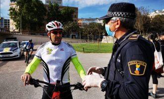 La Policia Local de València grava un documental per comptar les vivències dels seus agents davant la pandèmia