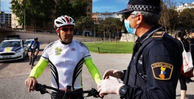 La Policía Local de València graba un documental para contar las vivencias de sus agentes ante la pandemia