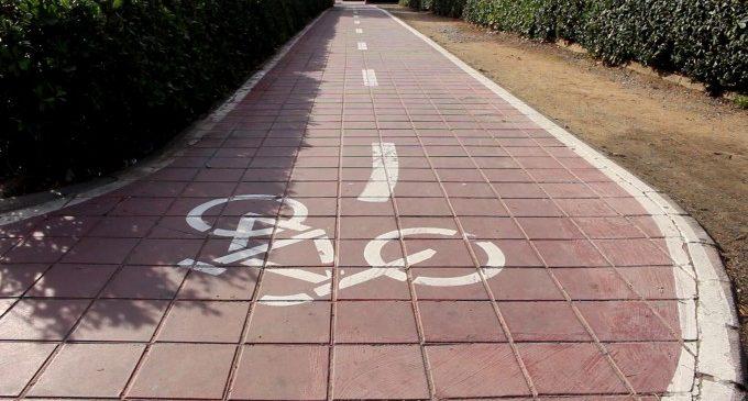 Obres Públiques invertirà 2,5 milions d'euros a completar la via de ciclovianants Alboraia-Almàssera