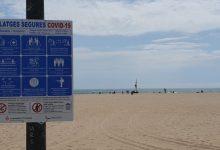 Las playas de València estrenan la fase 2 de la desescalada con 40 personas informadoras y 80 efectivos del servicio de vigilancia y socorrismo