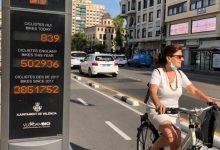 València celebra el día de la Bici con una recuperación del 70 % de este medio de transporte tras el confinamiento por la Covid-19