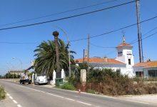 El ayuntamiento inicia una intervención en la Torre para sustituir y mejorar el alumbrado público de la carretera d'Alba