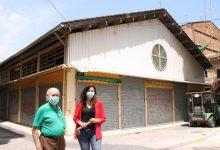 Comencen les obres de conversió en zona de vianants i reurbanització de l'entorn del Mercat Municipal de Sant Pere Nolasc