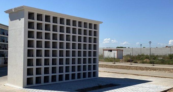 L'Ajuntament amplia l'oferta de nínxols columbaris i senzills al Cementeri General i al de Benimàmet