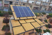 Comença la instal·lació de cinc noves pèrgoles fotovoltaiques en la ciutat de València