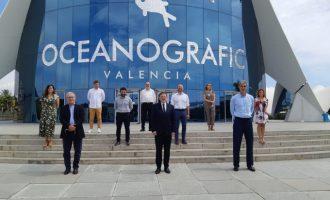 Joan Ribó agradece la confianza depositada en València en la presentación de la fase final de la Liga ACB de baloncesto