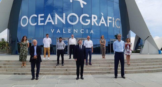 Joan Ribó agraeix la confiança dipositada en València en la presentació de la fase final de la Lliga ACB de bàsquet