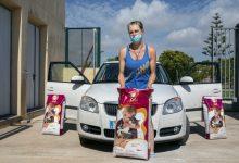 Benestar Animal ja ha repartit més de 4,5 tones de pinso als col·laborados de colònies felines