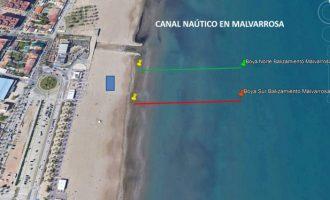 València contará con cinco canales para la práctica de deportes náuticos en sus playas