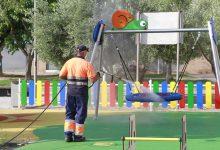 Oberts i desinfectats els 25 parcs infantils de Puçol