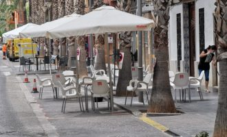 Xirivella ha autoritzat el 100% de les ampliacions de terrasses sol·licitades