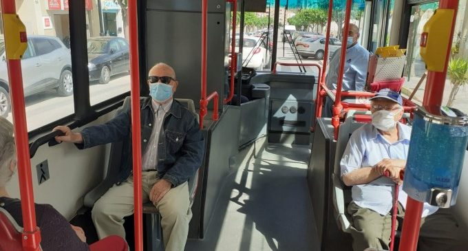 El bus urbà gratuït d'Ontinyent torna a prestar servei de manera adaptada a la Fase 2