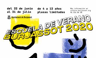 Burjassot abre el plazo de inscripción de su Escuela de Verano el 12 de junio