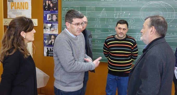 Educació de la Generalitat invertirà més de 5 milions d'euros en la reforma i l'ampliació del conservatori d'Ontinyent