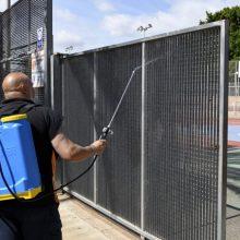 El polideportivo municipal de Paiporta reabre sus puertas con todas las medidas de seguridad