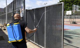 El poliesportiu municipal de Paiporta reobri les seues portes amb totes les mesures de seguretat