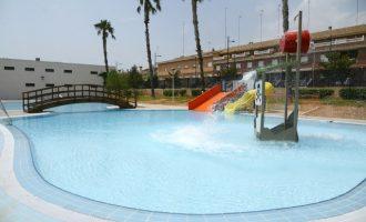 La Concejalía de Juventud y Deportes de Paiporta trabaja para abrir la piscina lúdica de verano a mitad de julio