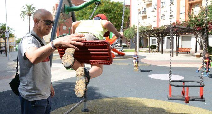 Paiporta reobri els jocs infantils i saludables de la localitat