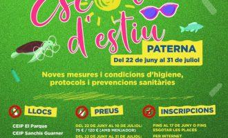 Paterna abre el plazo de inscripción de su Escola d'Estiu que comienza el 22 de junio