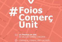Foios convida a gaudir del comerç local amb la campanya #FoiosComerçUnit