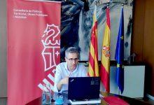"""Arcadi España: """"El Puerto de València debe conjugar diálogo social y sostenibilidad con desarrollo económico y creación de empleo"""""""