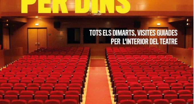 El Gran Teatre Antonio Ferrandis de Paterna organitza visites guiades