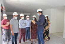 Ontinyent ultima les obres del nou local d'AFAO que obrirà les portes en setembre al barri de Sant Rafel