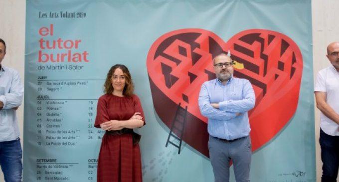 Les Arts Volant portarà 'El tutor burlat', de Martín i Soler per la geografia valenciana