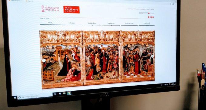 El Museu de Belles Arts renova la web amb més continguts i millor accessibilitat