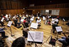 La Orquesta de València retoma sus ensayos en el Palau de la Música