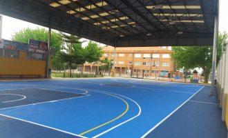 Meliana condiciona la pista coberta de bàsquet