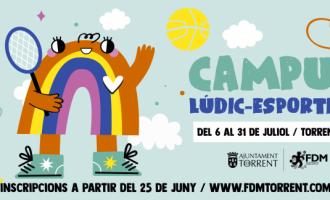 Torrent abrirá el periodo de inscripción de los Campus lúdico-deportivos el 25 de junio